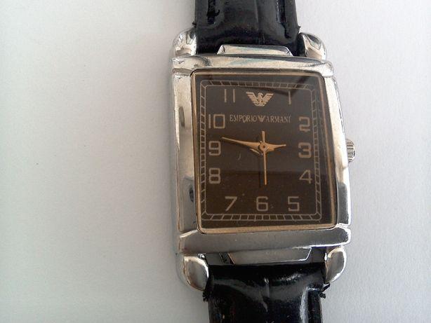 Ceas damă, elegant, Emporio Armani, curea piele originală
