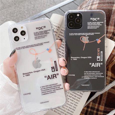 Husa Off white pentru iPhone 7+ si airpods