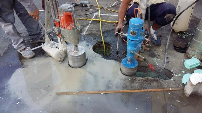 Gaurire, taiere si demolare structuri din beton, caramida sau BCA