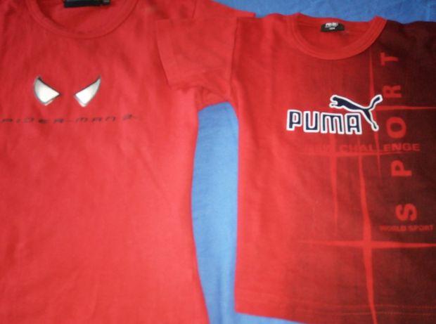 Tricouri ca noi din bumbac pt copii Puma , Spiderman,Ralph Lauren