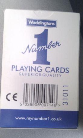 Carti de joc number one