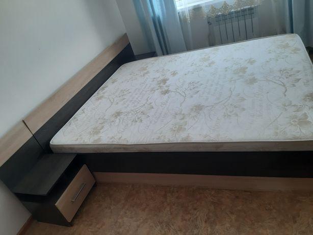 Двухспальный кровать. Ортопедический мартас.