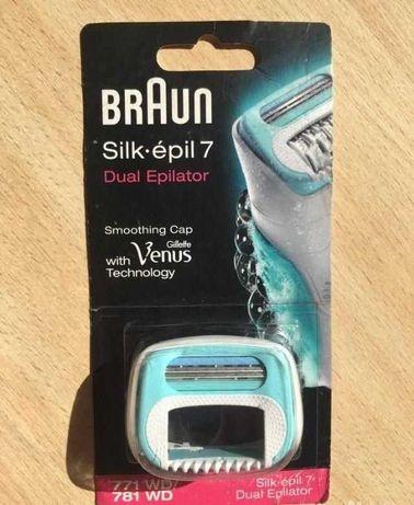 Заглаждаща приставка за епилатор Braun silk-epil 7