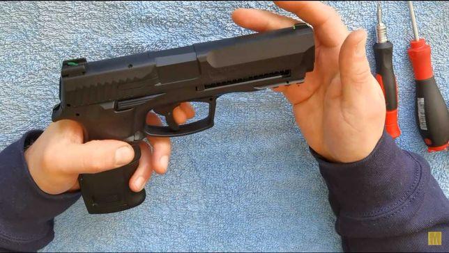 Pistol Airsoft Glok/Hdp Bile de CAUCIUC 20j=>Co2 Fara permis