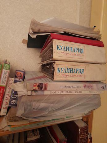 Кулинарные профессиональные книги в большом количестве