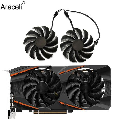 Gigabyte ventilator fan 90mm/rx580 rx480 / gtx1660 gtx1660super 1660ti