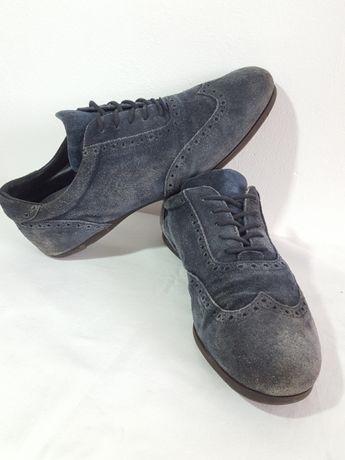 Pantofi Casual Piele întoarsă Nr.43