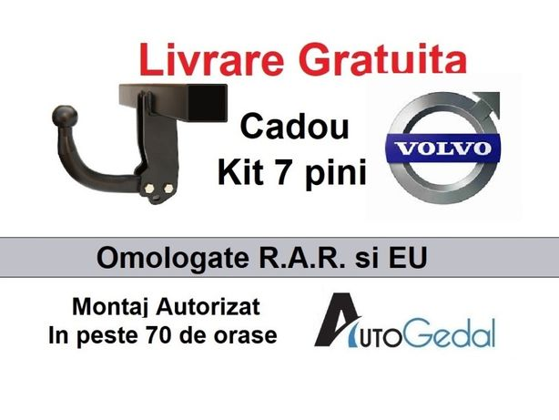 Carlig Remorcare Volvo XC60 Livrare Gratuita Omologat RAR si EU