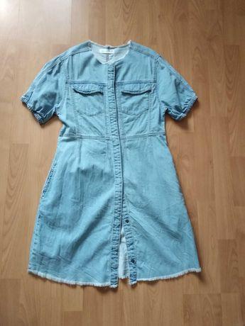 Zara детска дънкова рокля