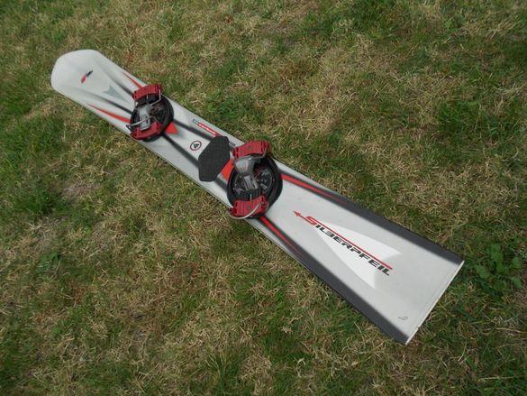 Карбонова Сноуборд дъска -Carbon tehnology Silberpfeil F2
