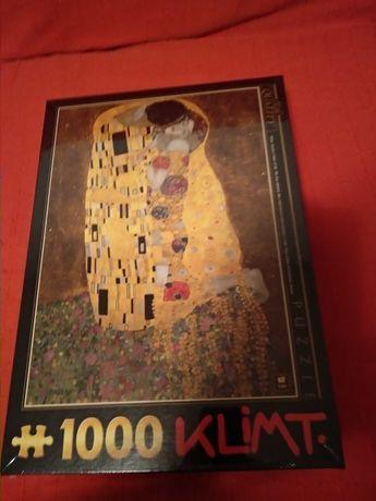 Puzzel 1000 piese Sarutul dupa Klimt