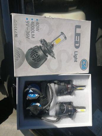 Продам светодиодные лампочки Led H4