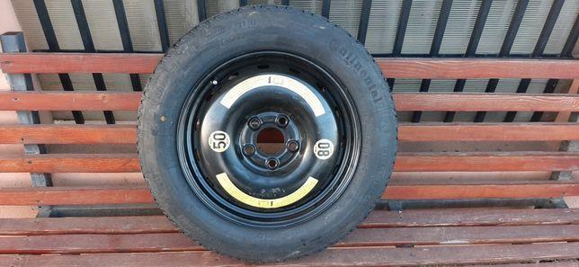Roata rezerva slim Continental 5x112 R16 mercedes si gama vag