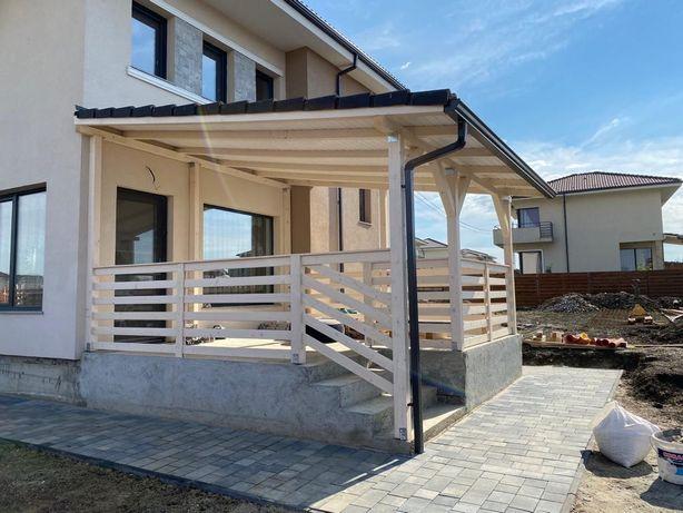 Constructii terase lemn , beton placa ; montaj pavaje , pavele , dale