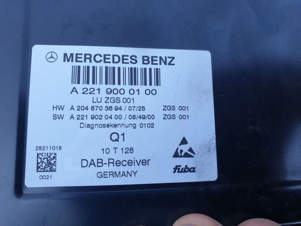 Modul Radio Mercedes A2219000100