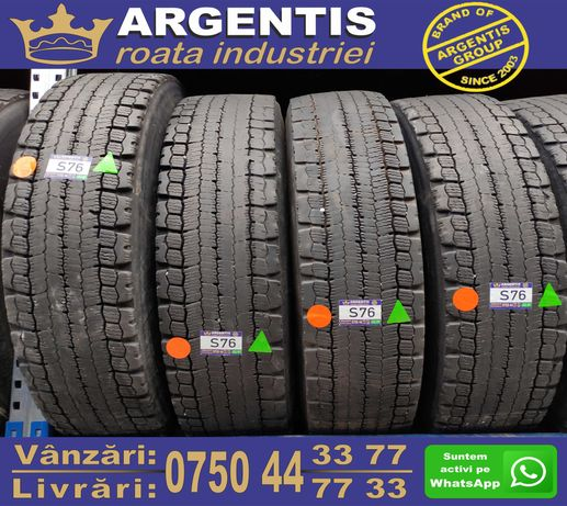 Set 4 Anvelope Camion 13/R22.5 MICHELIN (Cod S76)
