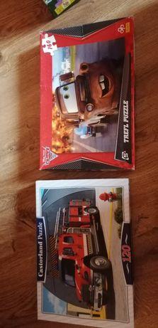 Set 2 puzzle-uri cars de 120 și 120 piese