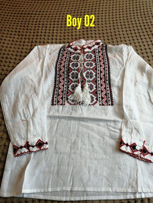 Ie băieței motive tradiționale din bumbac Bucuresti - imagine 1