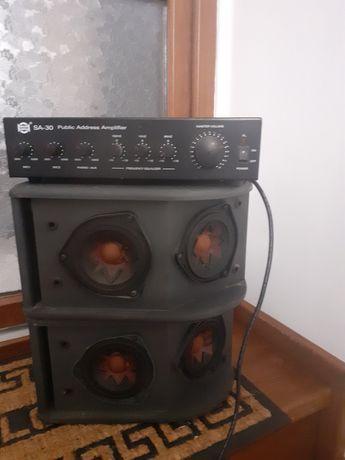 Boxe Bosse 203 TM +amplificator