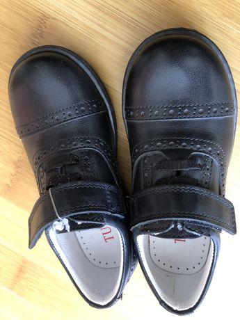 Новые туфли для мальчика,турецкая фирма tunel 25 разм