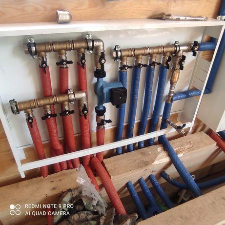 Монтаж отопления в Астане