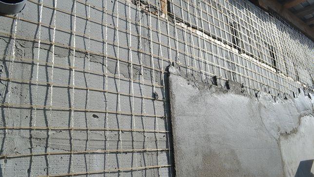 Сетка для выравнивания стен под штукатурку