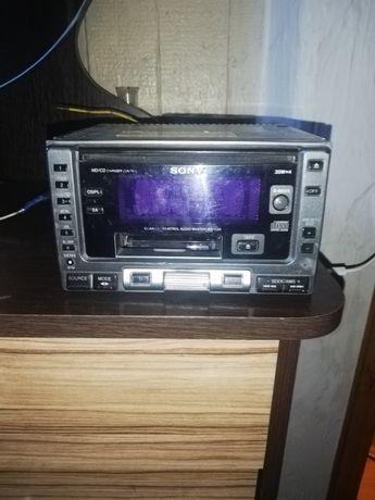 Магнитафон Sony 2 - диск и касета
