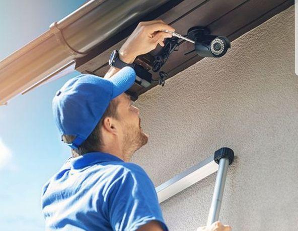 Instalare camere supraveghere montaj camere video si sistem alarma