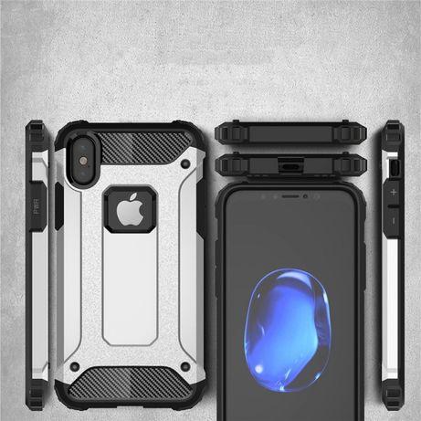 Удароустойчив Кейс Spigen Tough Armor Tech за Apple iPhone X XS XR