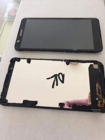Оригинален дисплей с тъч скрийн за Sony Xperia E4