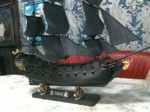 Продается деревянная модель корабля Черная Жемчужина. Алматы