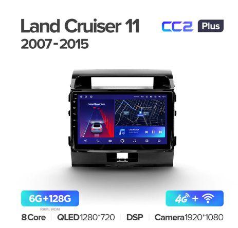 Штатная магнитола TEYES CC3 / sPro + для Toyota Land Cruiser 200