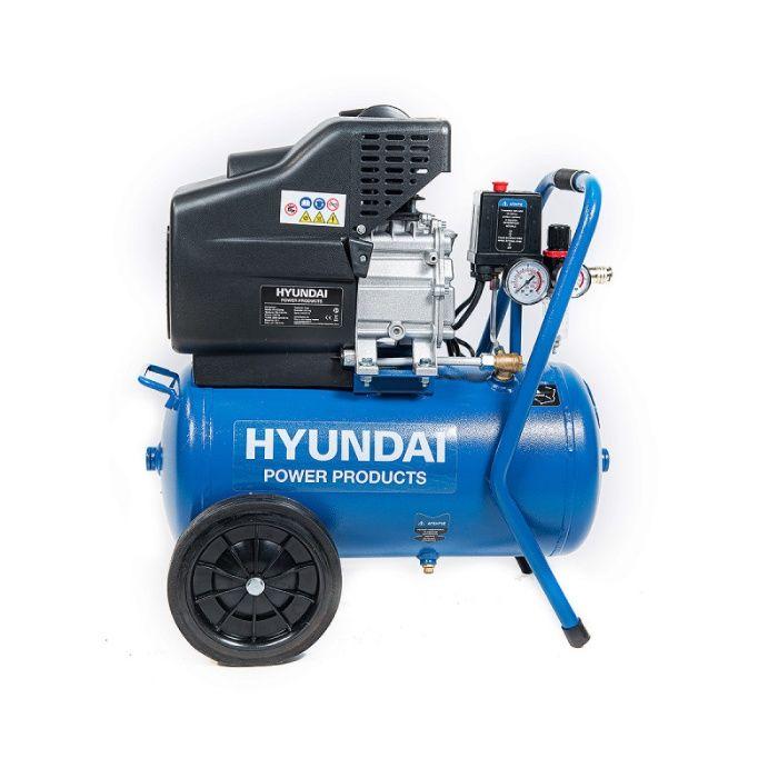 Compresor aer 24L, 1600W, 8 bar, Hyundai HY-AC2402
