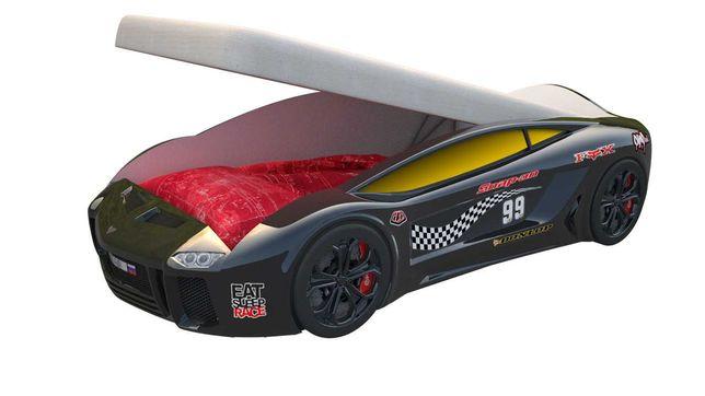 Детская кровать машина Ламба с подъемным механизмом