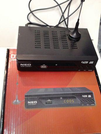 Ефирен Цифров Декодер RF с дисплей + Антена