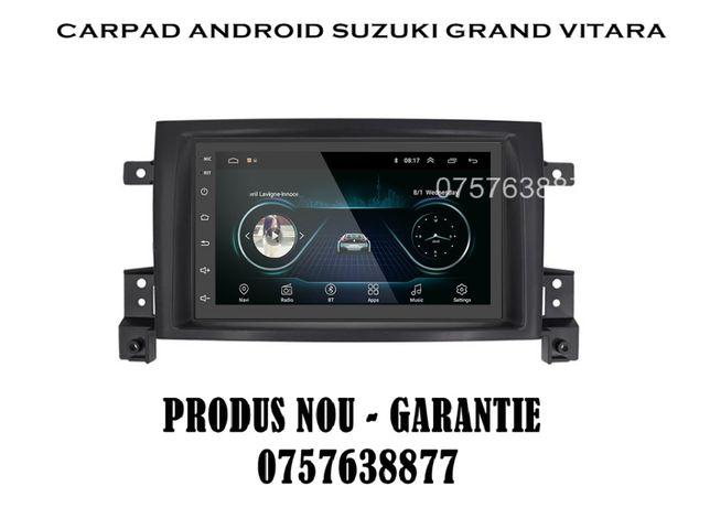 Navigatie Auto GPS 2020 Suzuki Grand Vitara Android, GPS, Waze, iGO
