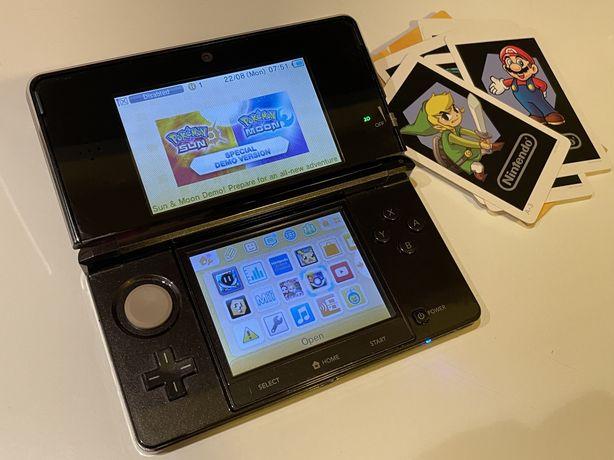 Consola Nintendo 3Ds Modata cu Sute de jocuri!