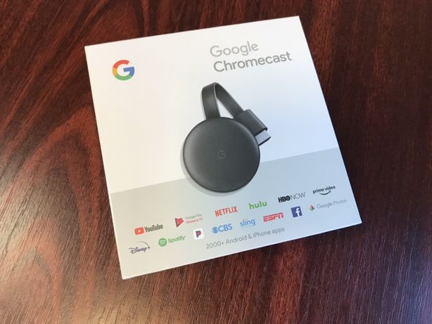Google Chromecast 3, NOU, original, sigilat (face SMART, tv-ul normal)