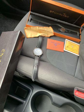 Оригинален мъжки часовник Stuhrling оригинална кожена каишка