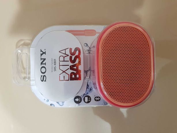 SONY XB01: boxă wireless portabilă cu EXTRA BASS™, SIGILATA!