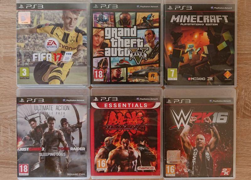 < PS3 > FIFA 17 / GTA 5 / MINECRAFT / Tekken / WWE за PlayStation 3 гр. Казанлък - image 1
