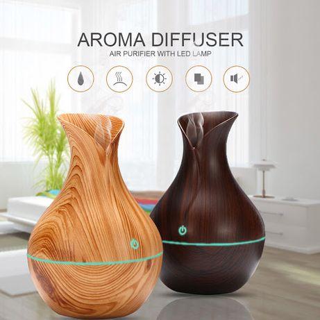 Дифузер овлажнител за етерични масла с 7 цвята лед лампа