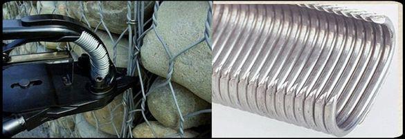Ръчни специализирани клещи и инструменти за сглобяване на габиони