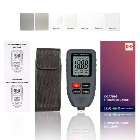 Автомобильный Толщиномер  R&D TC100  Прибор для проверки Авто