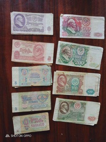 Продам рубли советские купюры 1961года выпуска всё за 18000тг