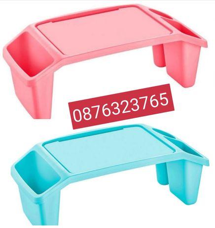 Детска помощна маса табла синя или розова