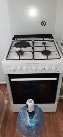 Газовая плита комби 60×60×85
