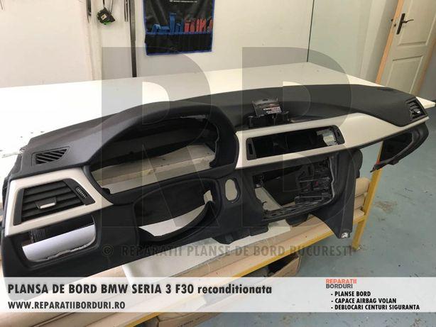Reparatii planse bord, plansa bord, capac airbag volan, centuri