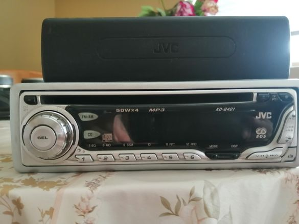 JVC KD G401 - радио / CD / MP3 плейър