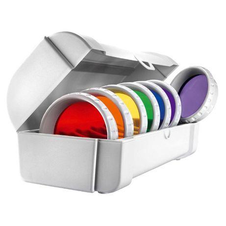 Set 7 lentile color therapy pentru bioptron pro.1, nou, la cutie